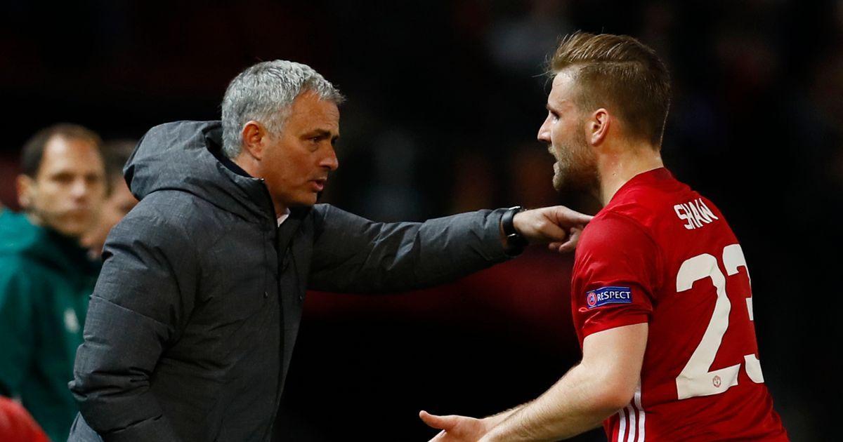 Tantangan Mourinho Buat Luke Shaw