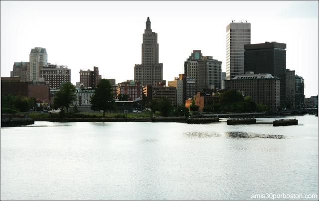 Edificios del Skyline de Providence, Rhode Island