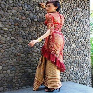 model rok batik untuk kebaya pendek