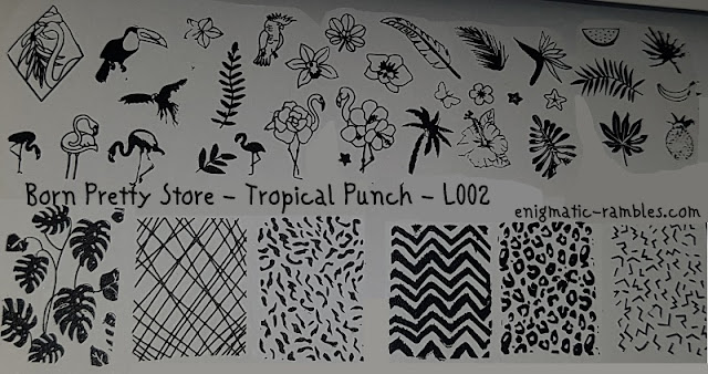 Stamping-Plate-Born-Pretty-Store-Tropical-Punch-L002