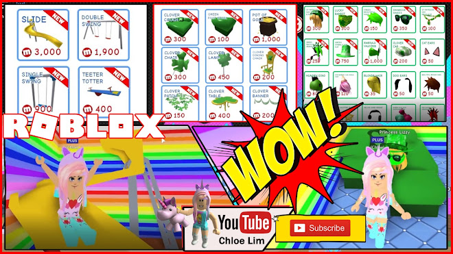 Roblox MeepCity Gameplay! WOW New St Patricks Day stuff and OUTDOOR FURNITURE!
