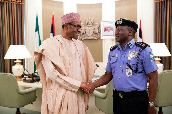Nigeria has a new inspector-general of Police, his name is Ibrahim Kpotun Idris