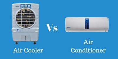 Perbedaan air cooler dan AC