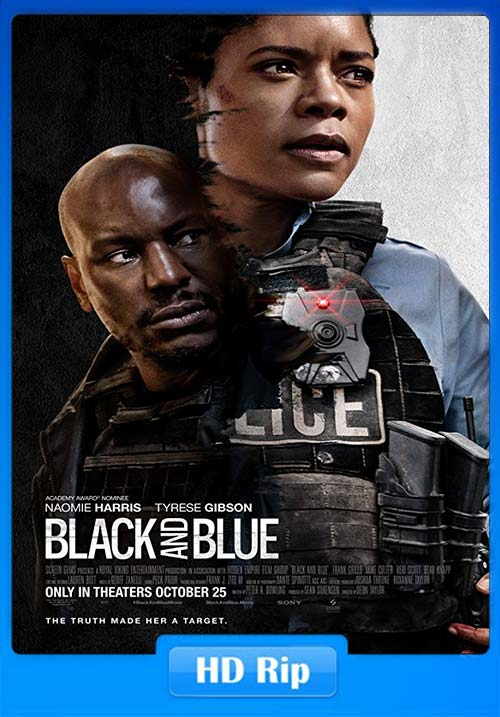 Black and Blue 2019 Hindi 720p BDRip ESubs x264 | 480p 300MB | 100MB HEVC