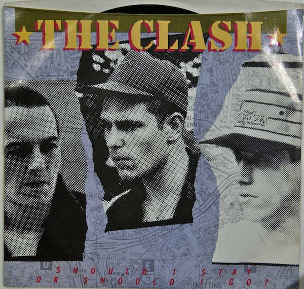 Maxi Singles Dj Chars The Clash Should I Stay Or Should