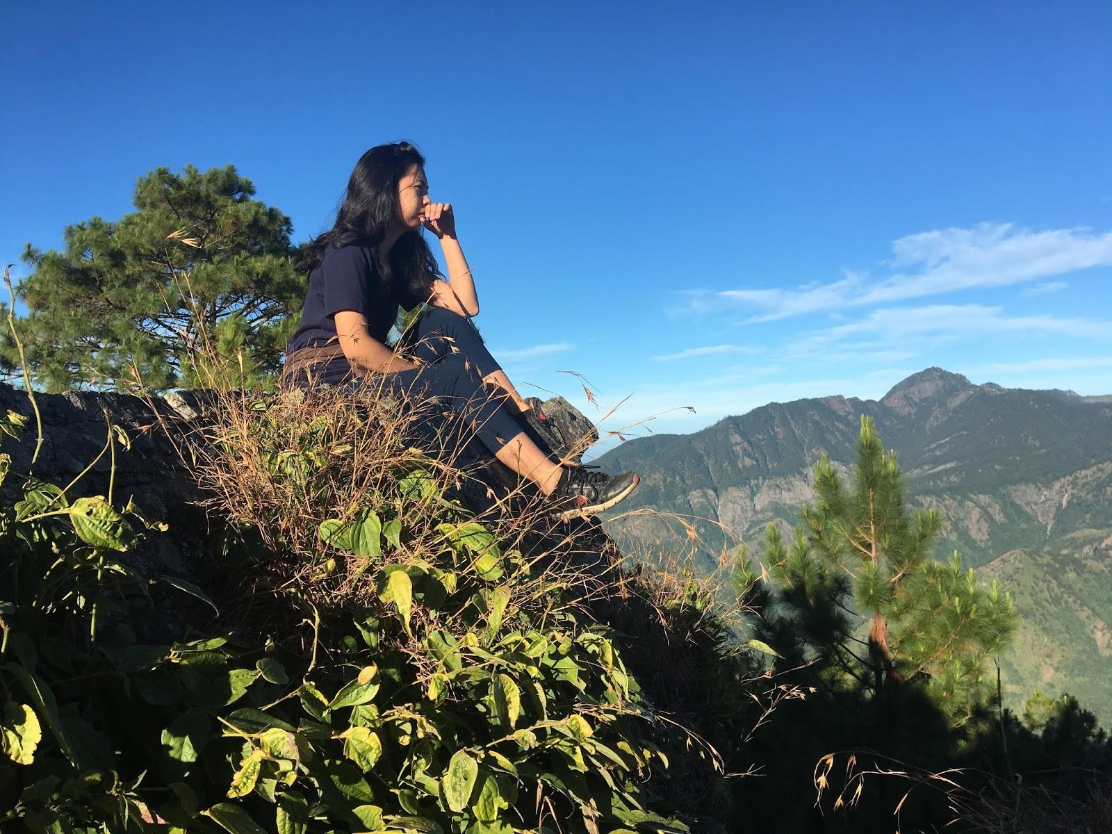 Life Blogger Teresa Gueco at Mt. Ulap