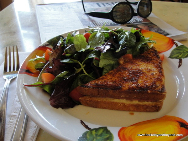 croque monsieur at Fleur de Cocoa patisserie in Los Gatos, California