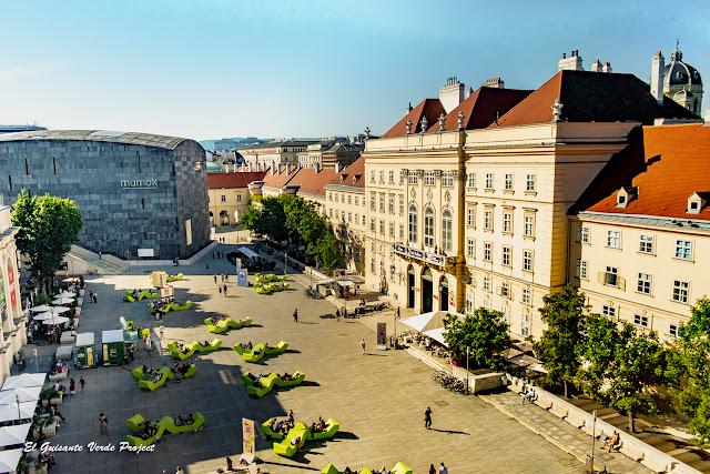 MuseumsQuartier - Viena por El Guisante Verde Project