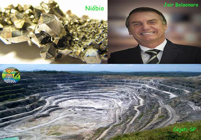 Nióbio o Tesouro de Cajati no Vale do Ribeira afirma Jair Bolsonaro