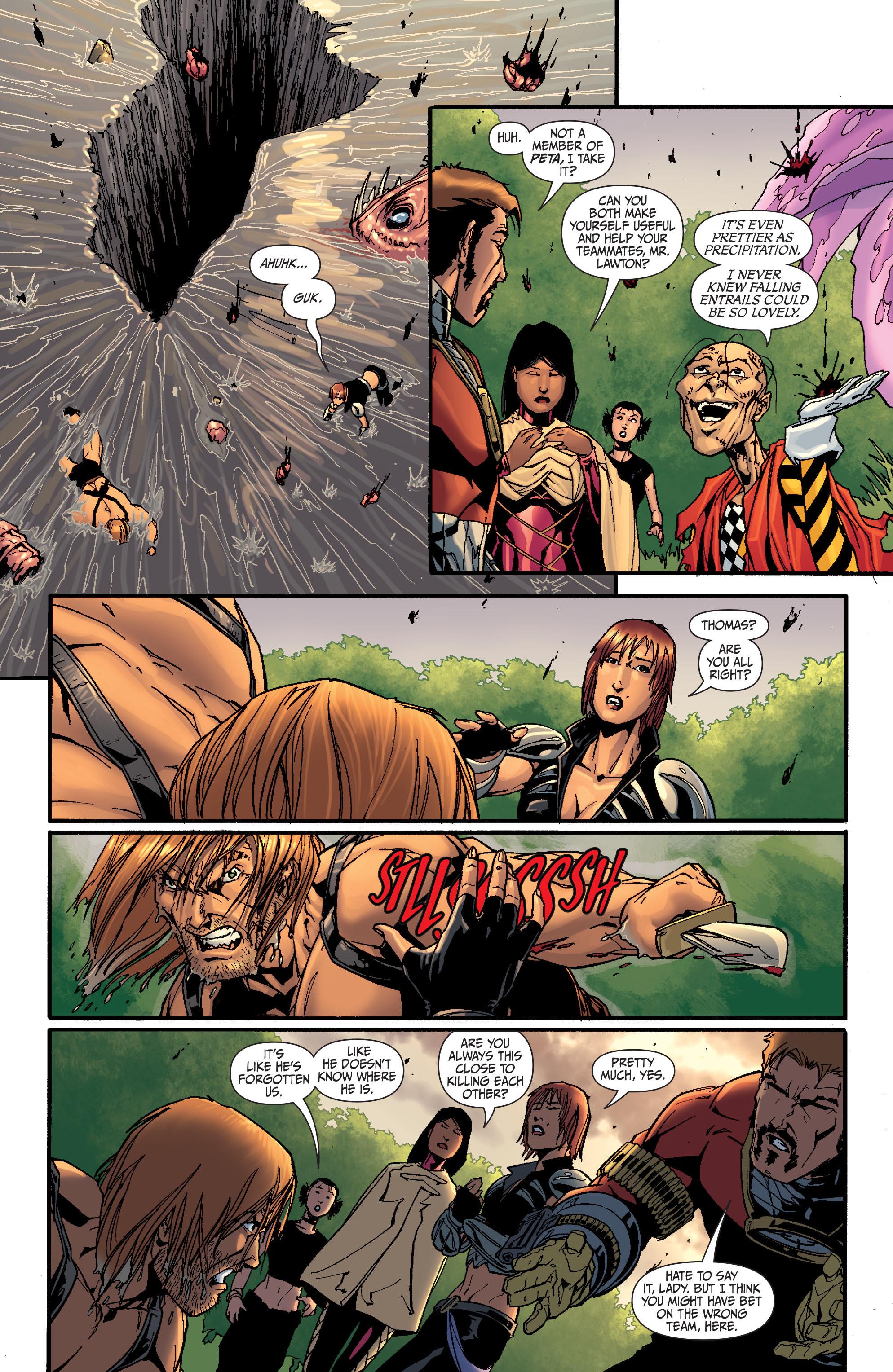 Read online Secret Six (2008) comic -  Issue #26 - 16