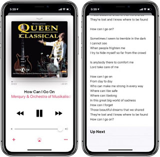 Cara Mencari dan Menampilkan Lirik Lagu di Aplikasi Apple Musik iPhone dan iPad
