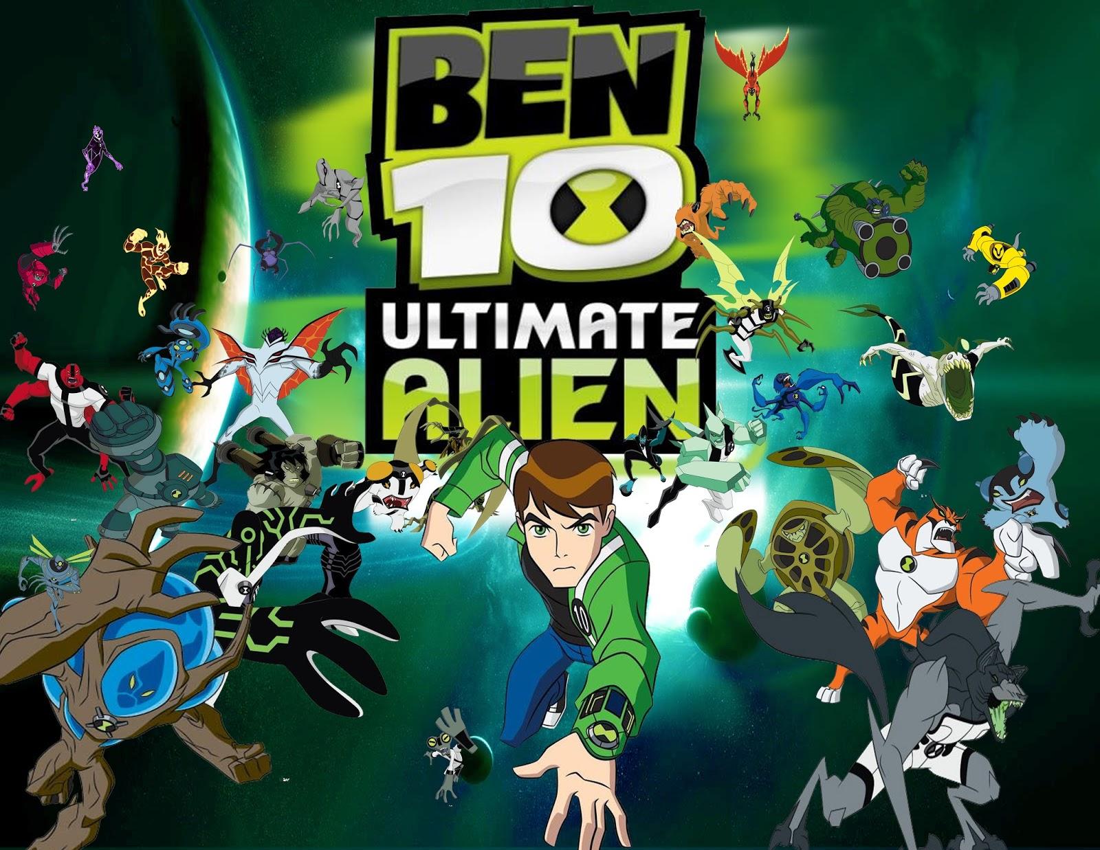 تحميل لعبة ben 10 ultimate alien للاندرويد