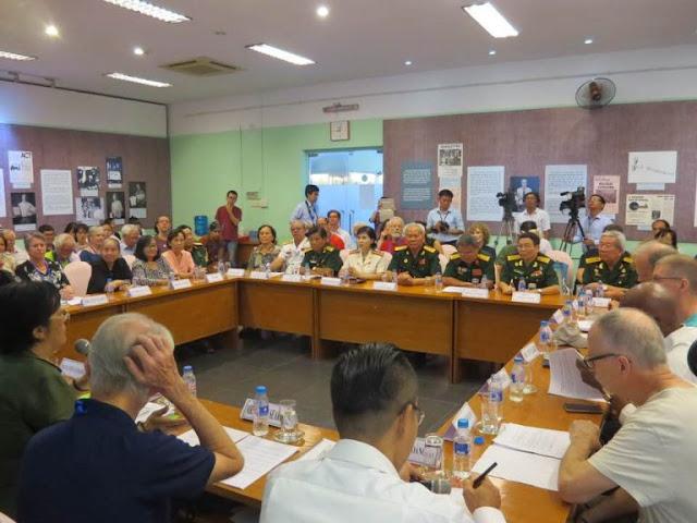 Bài đối thoại của Đại tá, Anh hùng lực lượng vũ trang nhân dân Phan Thị Ngọc Tươi, biệt động Sài Gòn trong buổi gặp gỡ với cựu binh Mỹ