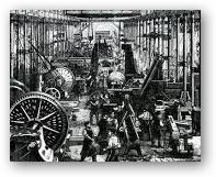Akibat revolusi industri dalam bidang ekonomi
