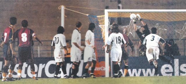 Venezuela y Chile en Clasificatorias a Corea/Japón 2002, 25 de julio de 2000