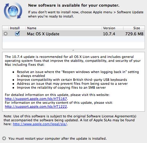 mac the ripper for mac os x 10.7.4