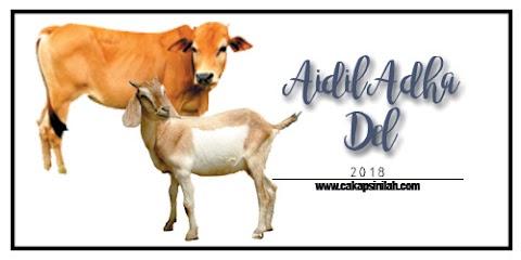 Aidil Adha Del 2018