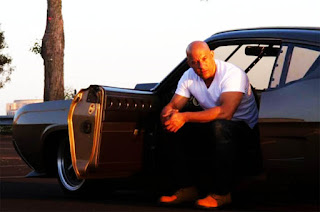 Dominic Toretto aka Vin Diesel in The Fast n Furious Movie