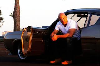 Dominic Toretto aka Vin Diesel in The Fast n Furious Movie