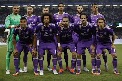 Real Madrid team vs Juventus UEFA Champions League Final