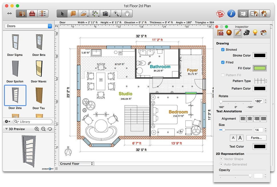 Floor Plan Creator For Powerpoint Free Home Design Ideas Images