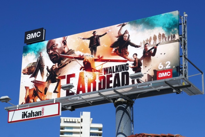 Fear Walking Dead season 5 billboard