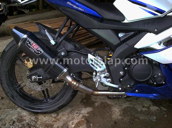 Knalpot Yoshimura R77 USA Yamaha YZF R15 Cocok Untuk Harian