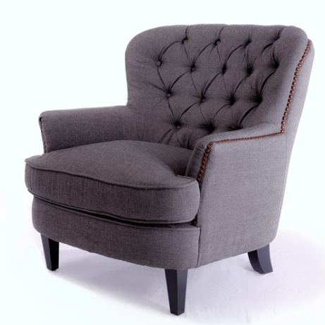Copy Cat Chic: Pottery Barn Cardiff Tufted Armchair