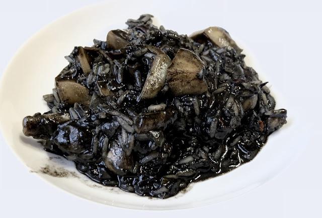 Arroz Negro De Choco…, Esta Vez Con Basmati