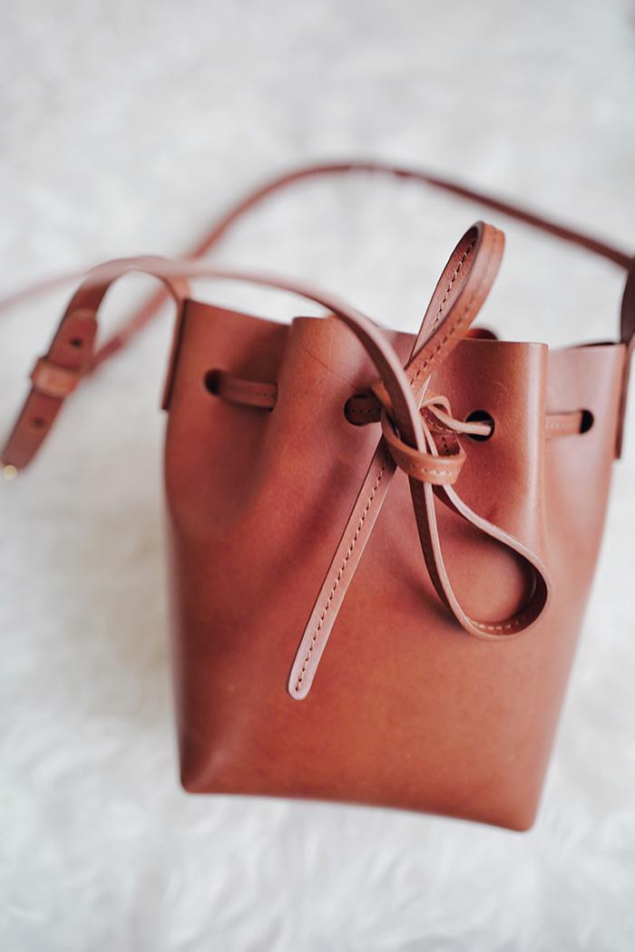 What s In My Mansur Gavriel Mini Mini Bucket Bag
