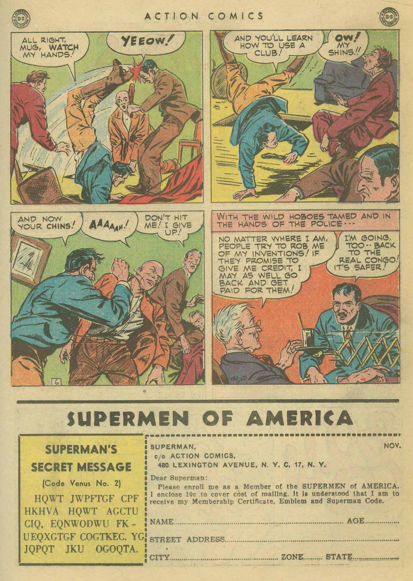 Read online Action Comics (1938) comic -  Issue #102 - 26