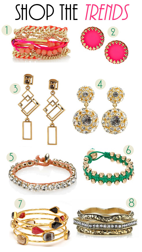 Jewelry Trends: Fashion: Spring Jewelry Trends