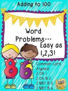 Word Problems: Adding to 100