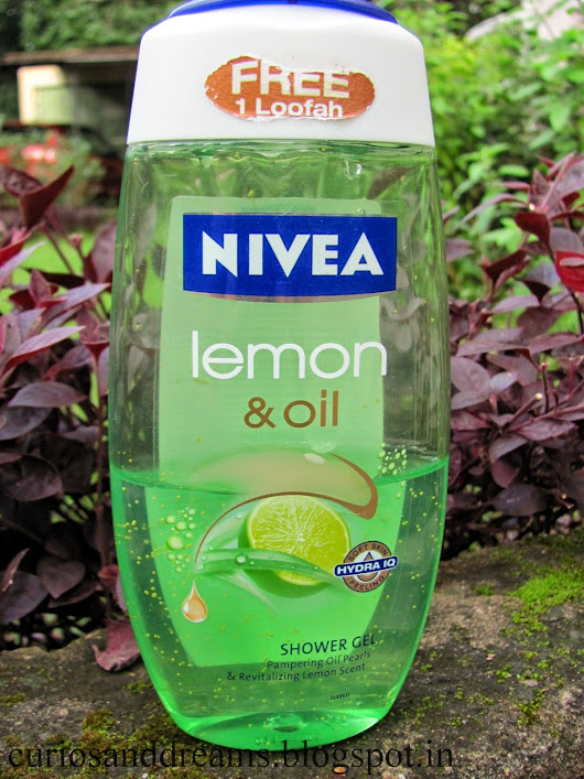 Nivea Lemon & Oil Shower Gel : Review