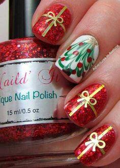 Christmas Nail Art pics