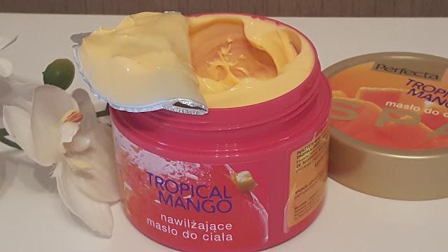 Perfecta / nawilżające masło do ciała / Tropical Mango