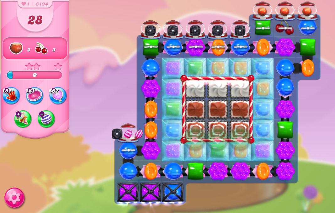Candy Crush Saga level 6194