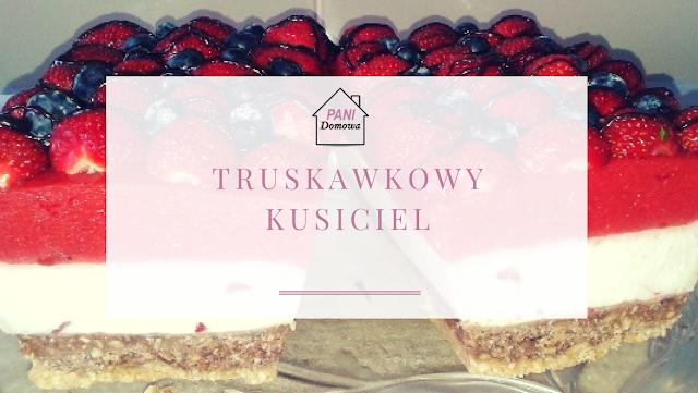 sernik bez pieczenia, sernik, proste ciasto, ciasto truskawkowe, sernik z truskawkami, Truskawkowy kusiciel.