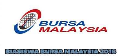 Biasiswa Bursa Malaysia 2018
