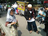 Terharu, ini Berkah Aksi 505 untuk Nenek Pembawa Kantong Plastik, Yang Ketemu di Lokasi Harap Bantu