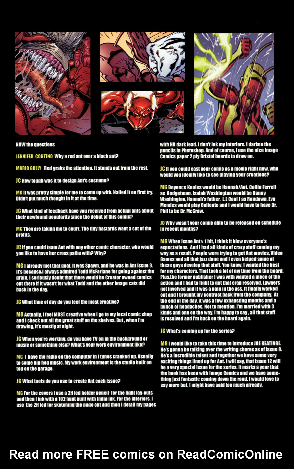 Read online Ant comic -  Issue #8 - 27