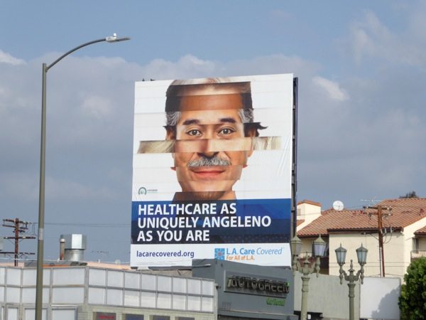 Healthcare uniquely Angeleno as you billboard