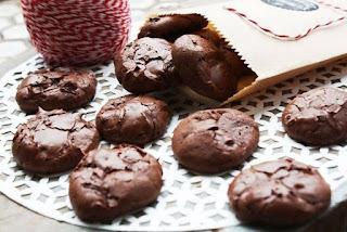 Cookies Cokelat Tanpa Terigu