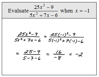 OpenAlgebra.com: Simplifying Rational Expressions