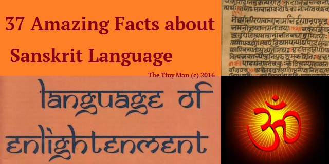 37 Amazing Facts about Sanskrit Language