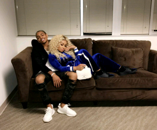 Blac Chyna and Mechie