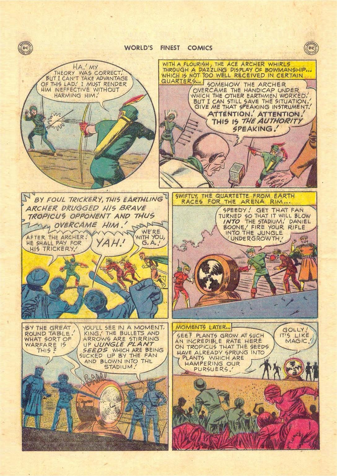 Read online World's Finest Comics comic -  Issue #52 - 49