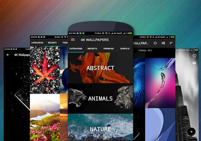 برنامج 4K Wallpapers – Full 4K + HDPro للأندرويد