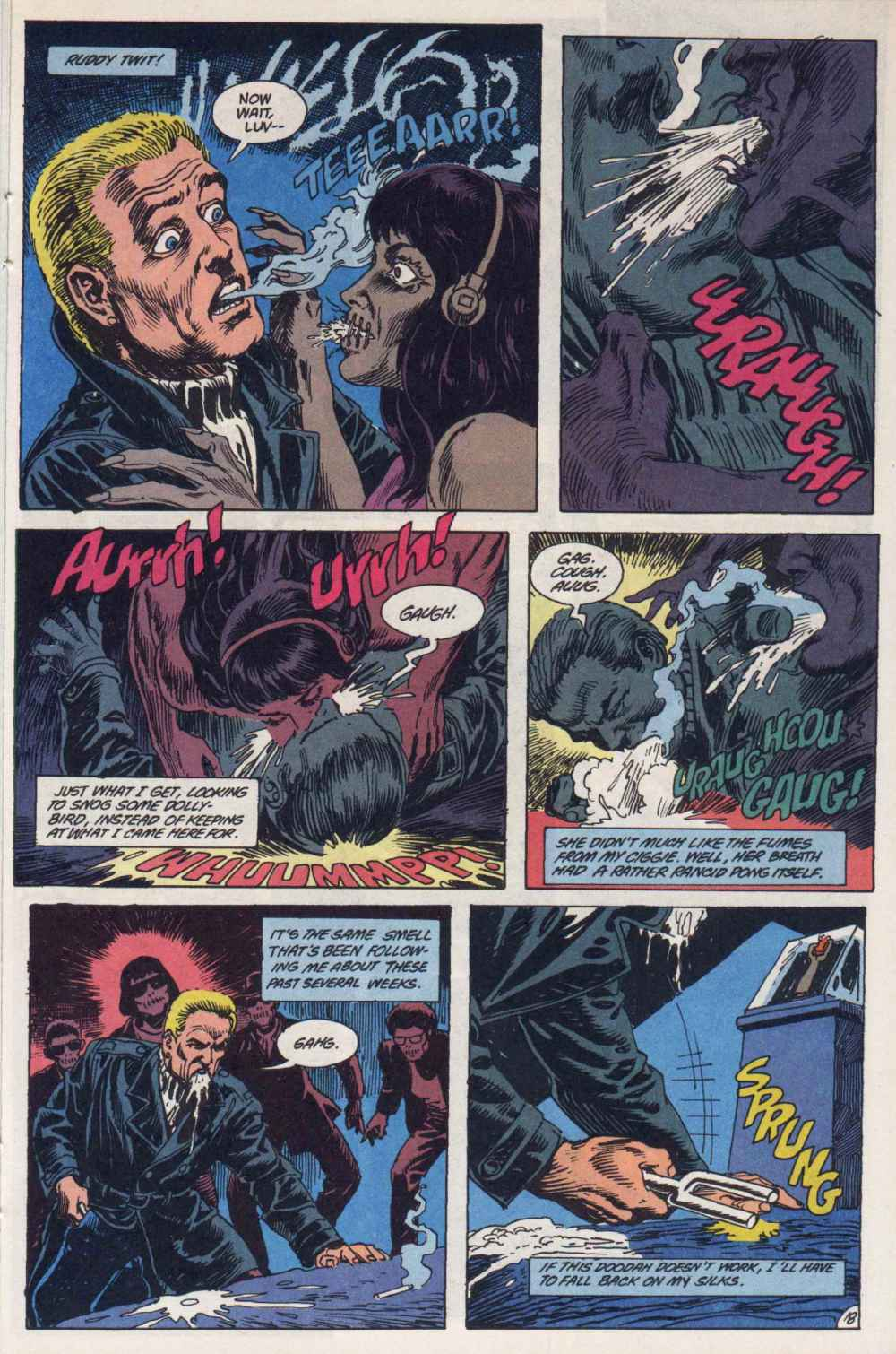 Swamp Thing (1982) Issue #90 #98 - English 18