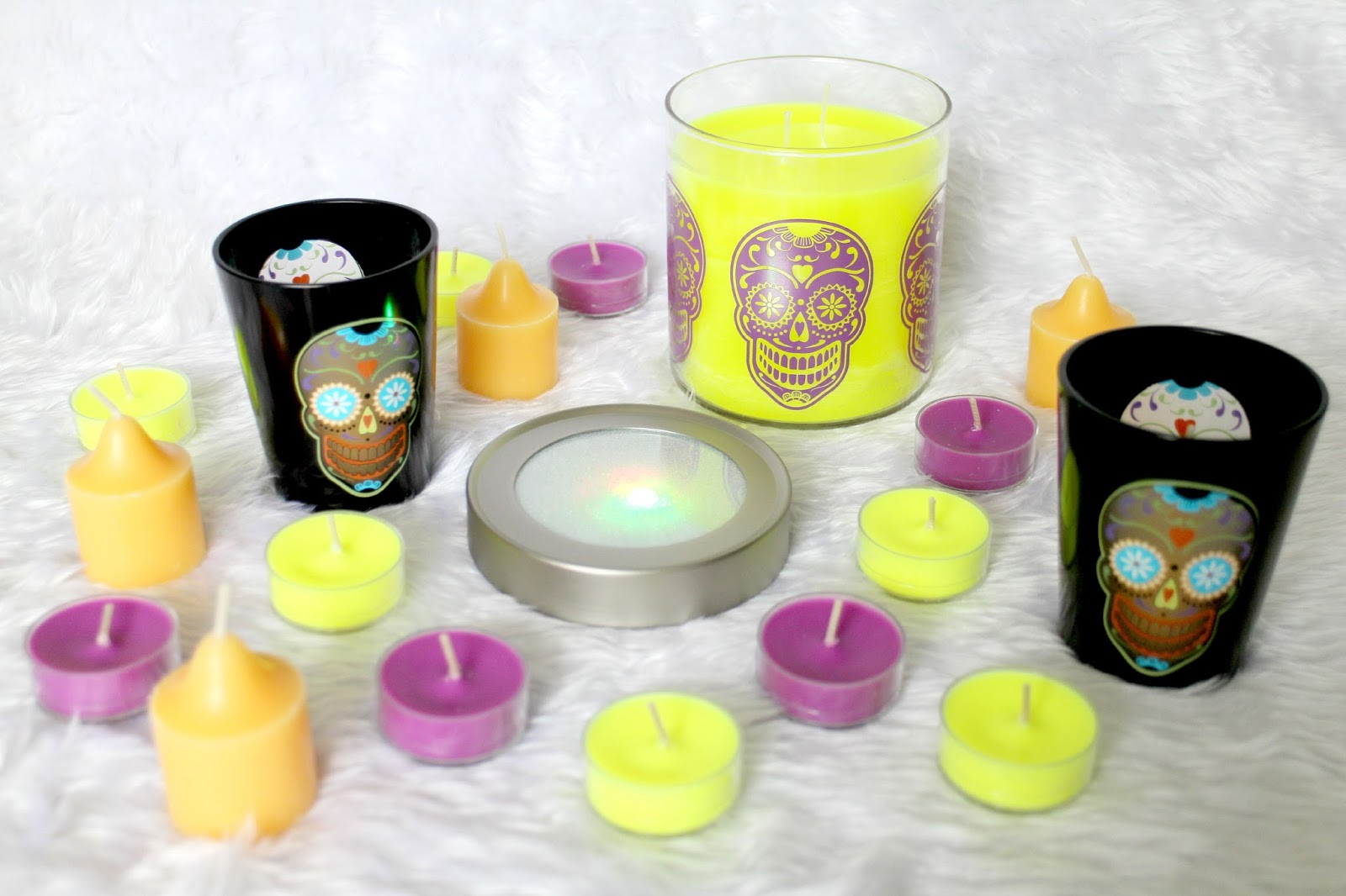 Partylite Halloween Candles